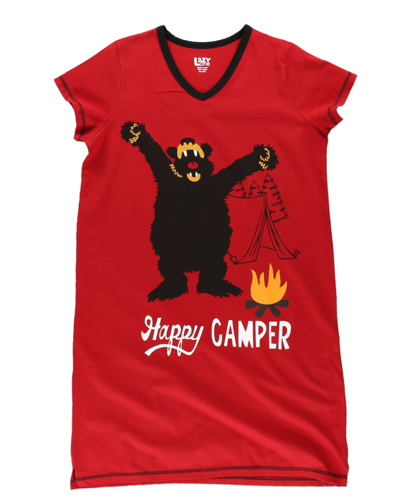 Happy Camper | Women's Nightshirts | Lazy One®